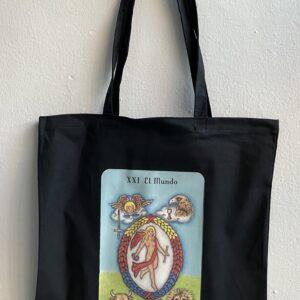 Tote Bag Tarot El Mundo