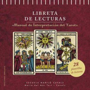Libreta de lecturas del manual de tarot